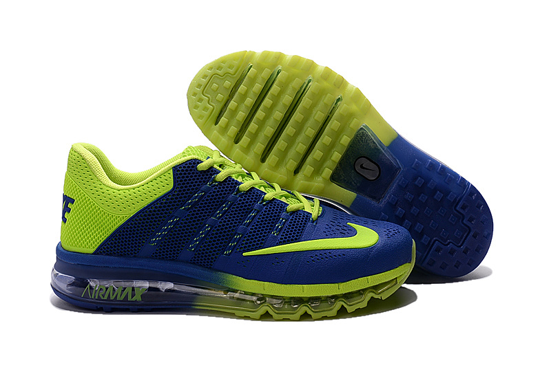 Air Max 2016 Nike Men's Running Shoes Blue Green