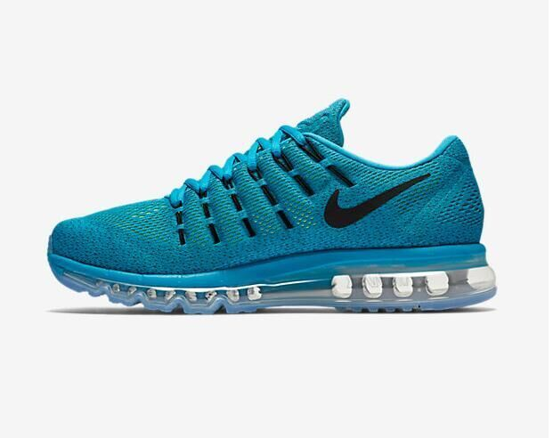 Air Max 2016 Nike Men Running Shoes Blue Black