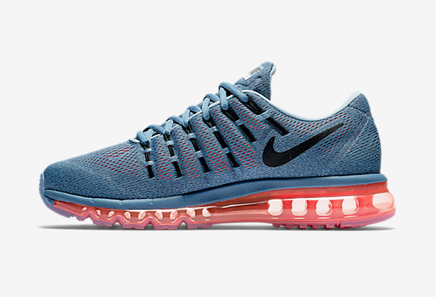 Air Max 2016 Nike Men Running Shoes Blue Grey
