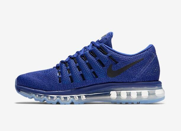 Air Max 2016 Nike Men Running Shoes Dark Blue