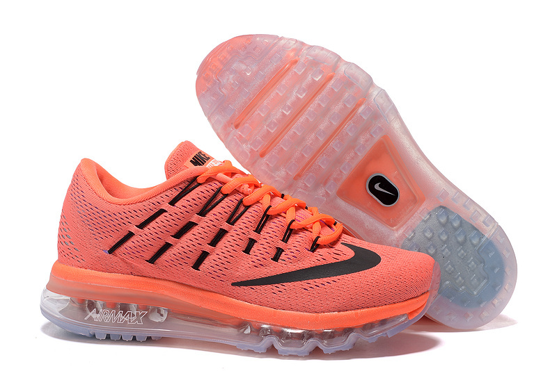 Nike Air Max 2016 Women's Running Shoes Orange White