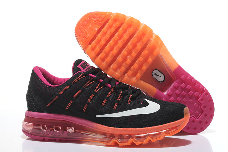 Air Max 2016 Black Orange Purple