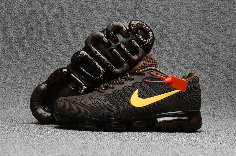 2018 New Air Max Cheap Nike Air Max 2018 Brown Yellow