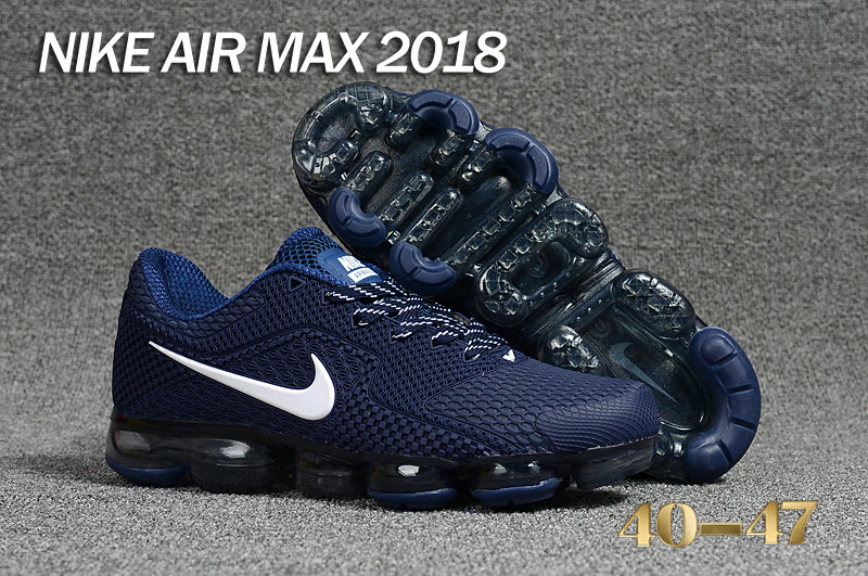 2018 Cheap Nike Shoes Air Maxs Cheap Nike Air Max Day 2018 Deep Blue White