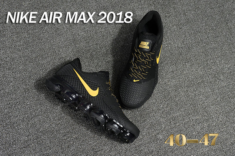 2018 Cheap Nike Shoes Air Maxs Cheap Nike Air Max Day 2018 Gold Black