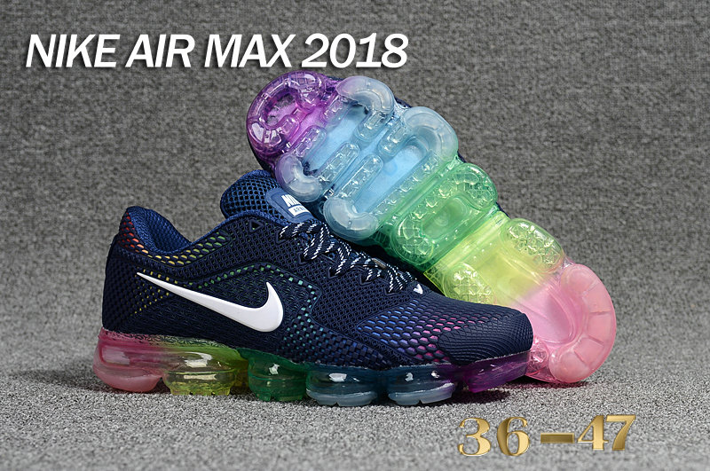2018 Cheap Nike Shoes Air Maxs Cheap WMNS Nike Air Max Day 2018 Be True Deep Blue