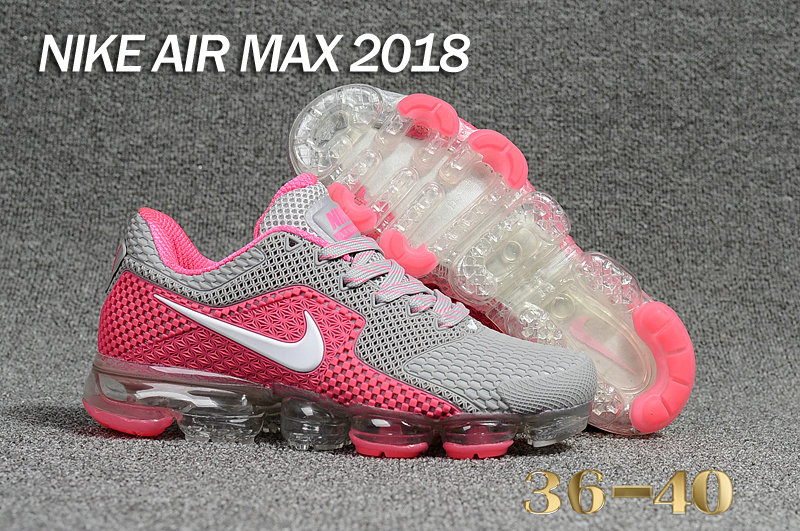 2018 Cheap Nike Shoes Air Maxs Cheap WMNS Nike Air Max Day 2018 Pink Grey