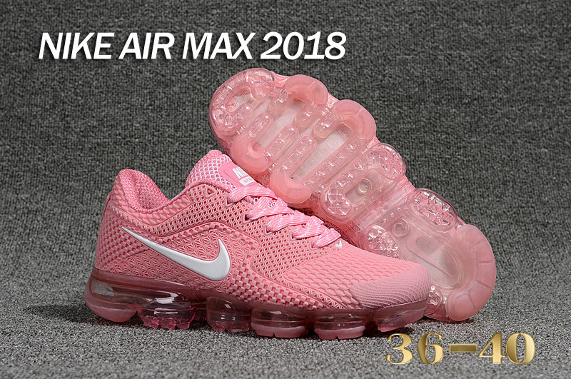 2018 Cheap Nike Shoes Air Maxs Cheap WMNS Nike Air Max Day 2018 Pink Whitea