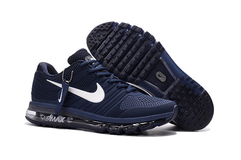 Air Max FREE SHIPPING Cheap Air Max 2017 Black Navy Blue White