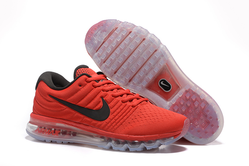 Air Max FREE SHIPPING Cheap Air Max 2017 Fire Red Black Grey