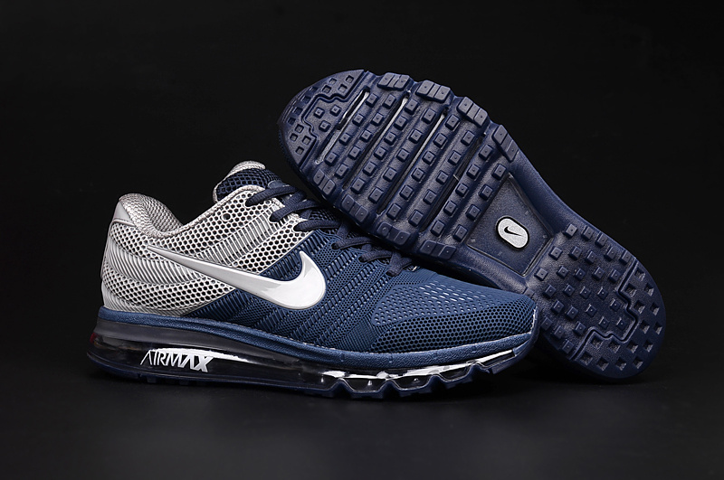Air Max FREE SHIPPING Cheap Air Max 2017 Grey Navy Blue