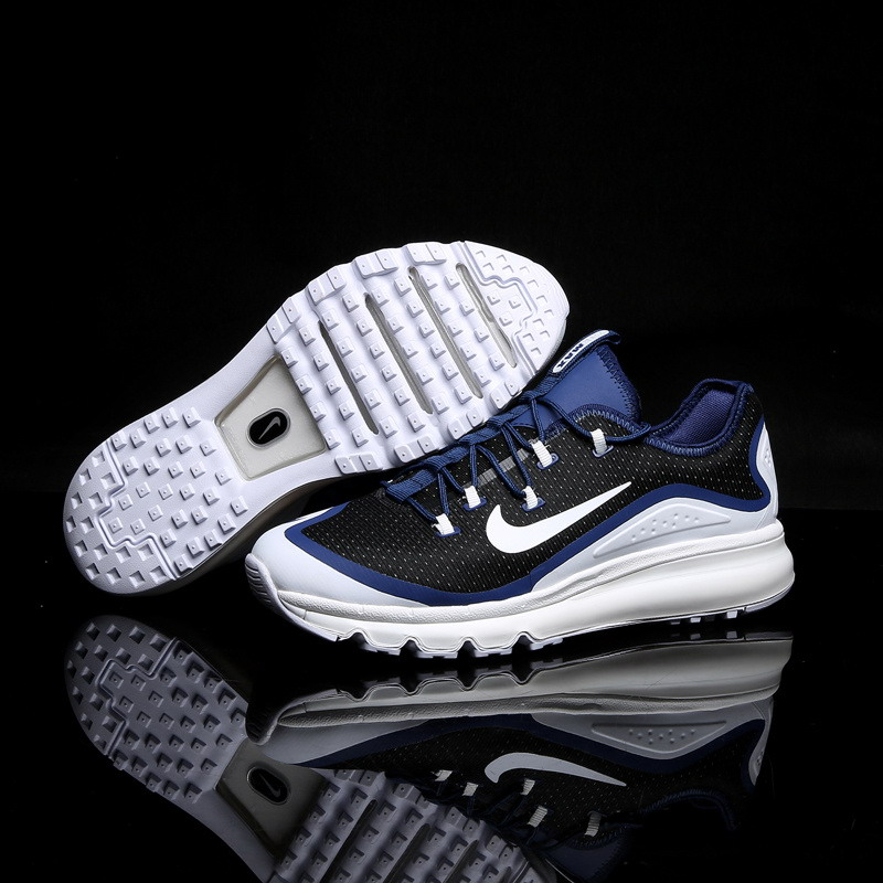 Air Max FREE SHIPPING Cheap Air Max 2017 Running Shoes Black Blue White