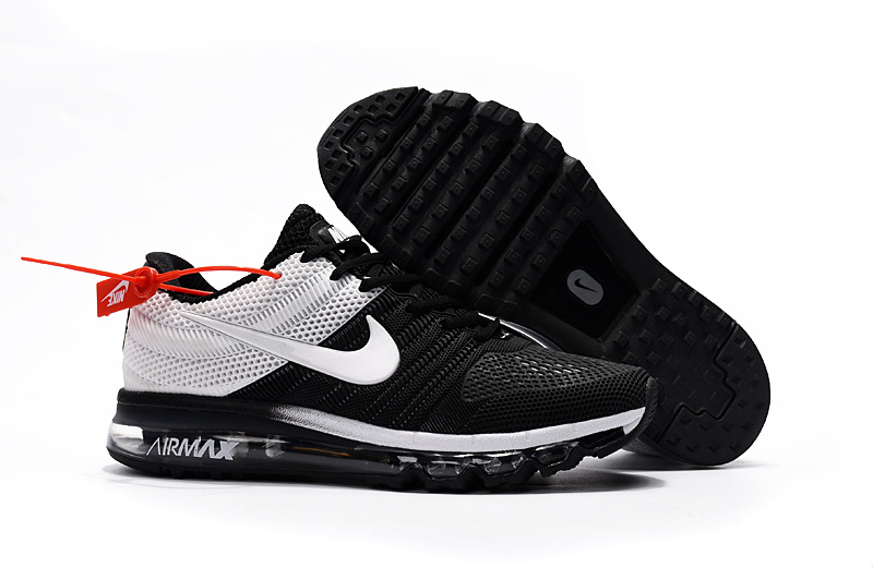 Air Max FREE SHIPPING Cheap Air Max 2017 Running Shoes Black White