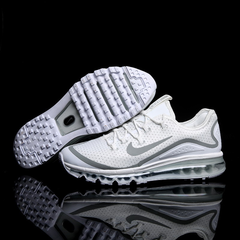 Air Max FREE SHIPPING Cheap Air Max 2017 Running Shoes White Grey