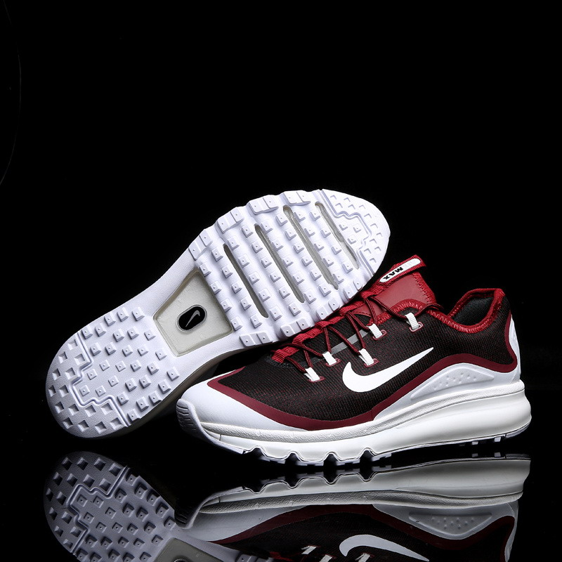 Air Max FREE SHIPPING Cheap Air Max 2017 Running Shoes White Red Black