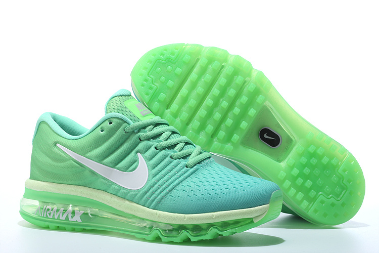 Air Max FREE SHIPPING Cheap Air Max 2017 Women Apple Green White