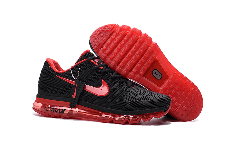 Air Max FREE SHIPPING Cheap Air Max 2017 Women Black Red