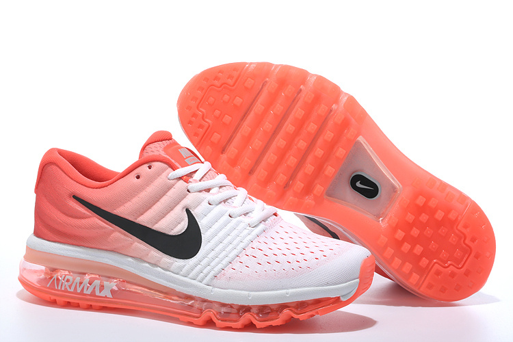 Air Max FREE SHIPPING Cheap Air Max 2017 Women Orange Black Grey