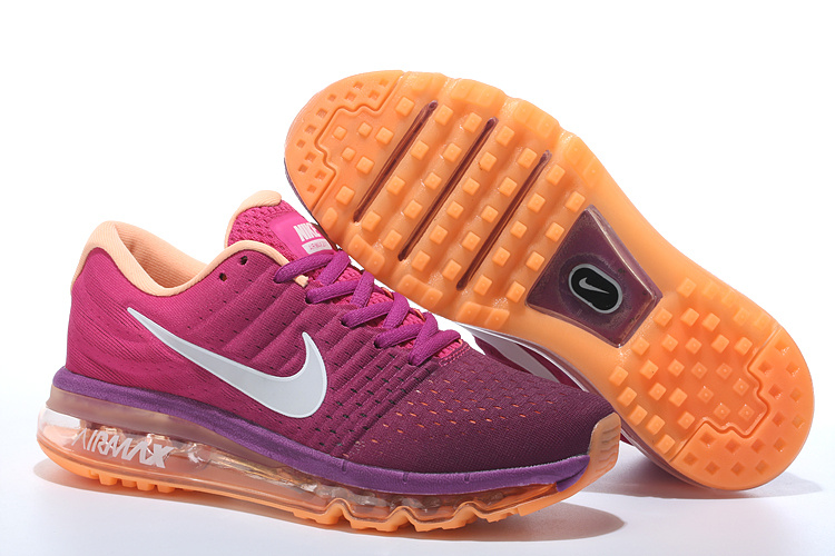 Air Max FREE SHIPPING Cheap Air Max 2017 Women Purple Grey Orange