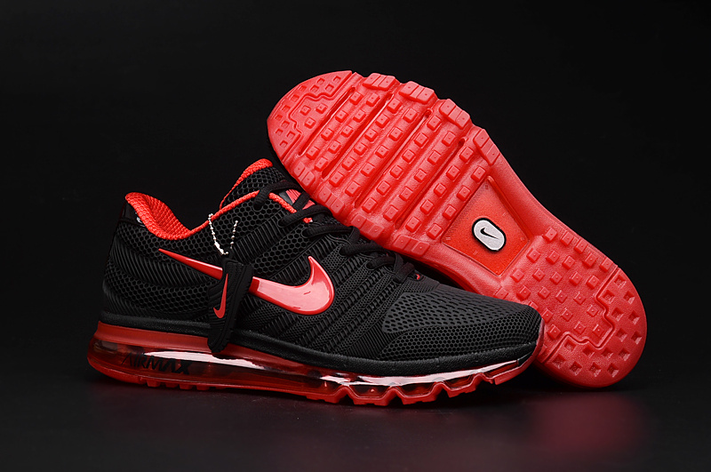 Air Max FREE SHIPPING Cheap Air Max 2017 Women Red Black