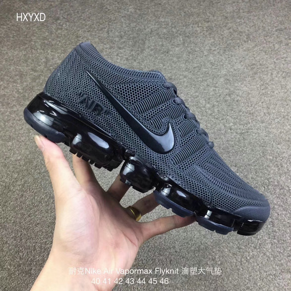 Cheap Nike 2018 Nike Air 2018 Flyknit Grey Black Running