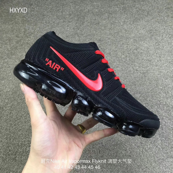 Cheap Nike 2018 Nike Air 2018 Flyknit Red Black Running