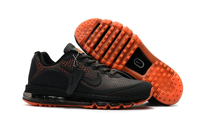Air Max FREE SHIPPING Cheap Nike Air Max 2017 Charcoal Gray Orange