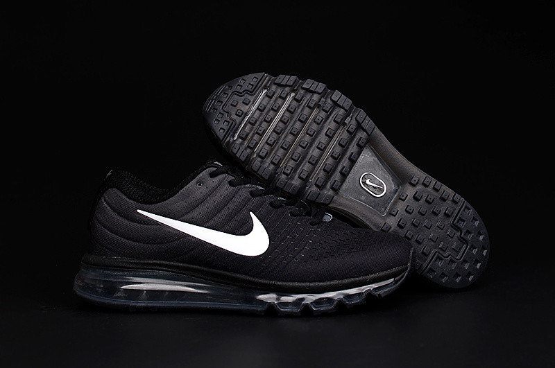 Air Max FREE SHIPPING Cheap Nike Air Max 2017 Mens All Black White