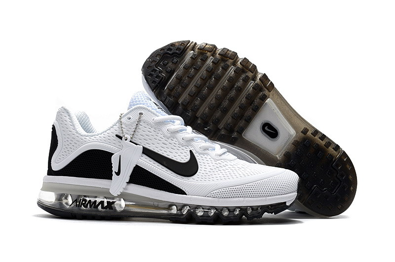 Air Max FREE SHIPPING Cheap Nike Air Max 2017 Mens Black White Running Shoes