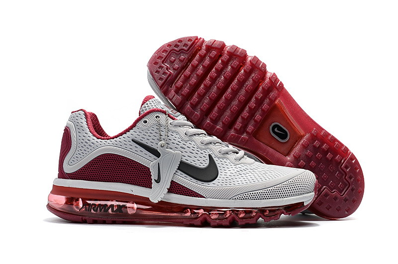 Air Max FREE SHIPPING Cheap Nike Air Max 2017 Mens Claret Grey Running Shoes