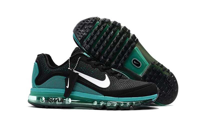 Air Max FREE SHIPPING Cheap Nike Air Max 2017 Mens Ocean Green Black Running Shoes