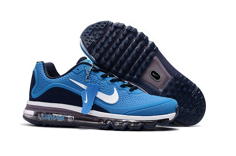 Air Max FREE SHIPPING Cheap Nike Air Max 2017 Mens Royal Blue Black Running Shoes