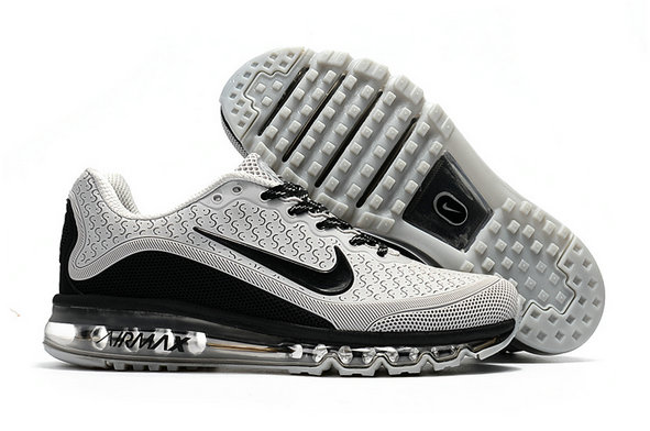 Air Max FREE SHIPPING Cheap Nike Air Max 2017 Mens Rubber Patch Grey Black