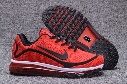 Air Max FREE SHIPPING Cheap Nike Air Max 2017 Nanometer Red Black White