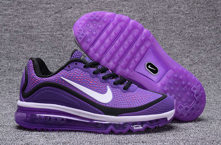 Air Max FREE SHIPPING Cheap Nike Air Max 2017 Nanometer Womens Purple Black White