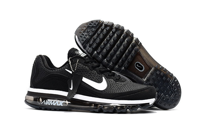 Air Max FREE SHIPPING Cheap Nike Air Max 2017 Womens Black White Running Shoes