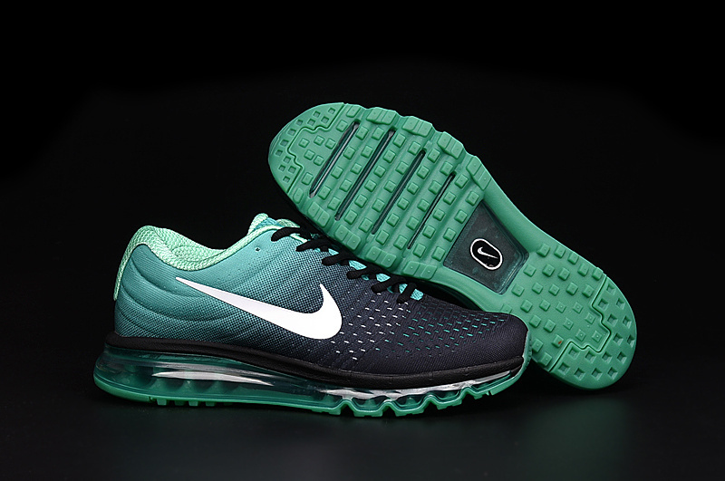 Air Max FREE SHIPPING Cheap Nike Air Max 2017 Womens Grass Green Black White