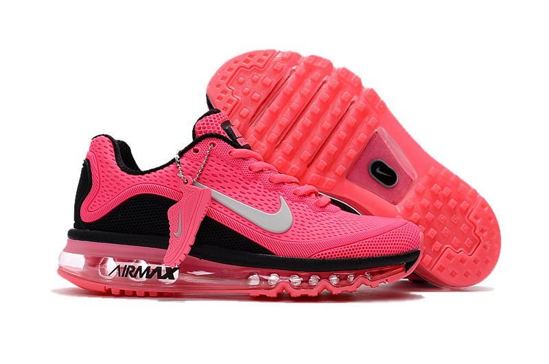 Air Max FREE SHIPPING Cheap Nike Air Max 2017 Womens Pink Black Grey Running Shoes