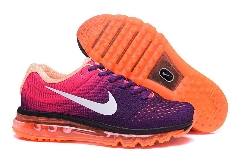 Air Max FREE SHIPPING Cheap Nike Air Max 2017 Womens Purple Black White Pink Orange