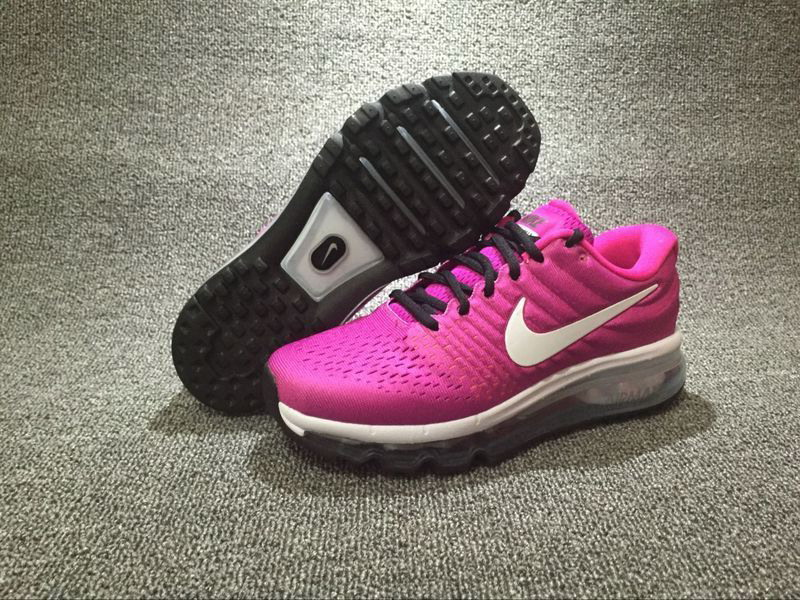 Air Max FREE SHIPPING Cheap Nike Air Max 2017 Womens Purple Black White Running Shoes