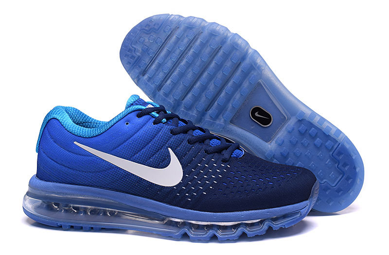 Air Max FREE SHIPPING Cheap Nike Air Max 2017 Womens Royal Blue White