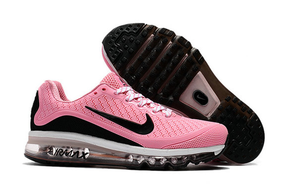 Air Max FREE SHIPPING Cheap Nike Air Max 2017 Womens Rubber Patch Pink White Black