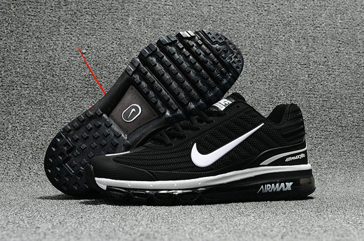 Air Max FREE SHIPPING Cheap Nike Air Max 2017 x 360 Fusion Black White