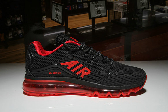 Air Max FREE SHIPPING Cheap Nike Air Max 2018 Elite Red Black