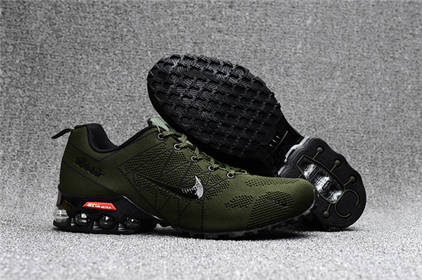 Air Max FREE SHIPPING Cheap Nike Air Max 2018 Ultra Zoom Army Green Black Running Shoes