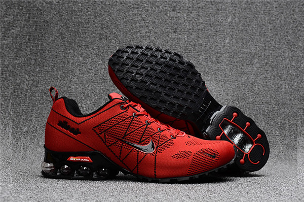 Air Max FREE SHIPPING Cheap Nike Air Max 2018 Ultra Zoom Red Black Running Shoes