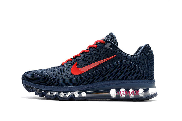 Air Max FREE SHIPPING Cheap Nike Air Maxs 2017 Red Dark Blue