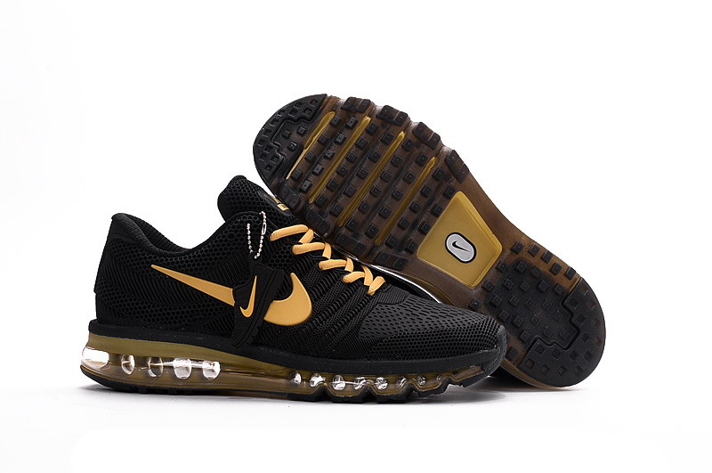Air Max FREE SHIPPING Cheap Nike AirMax 2017 Gold Black