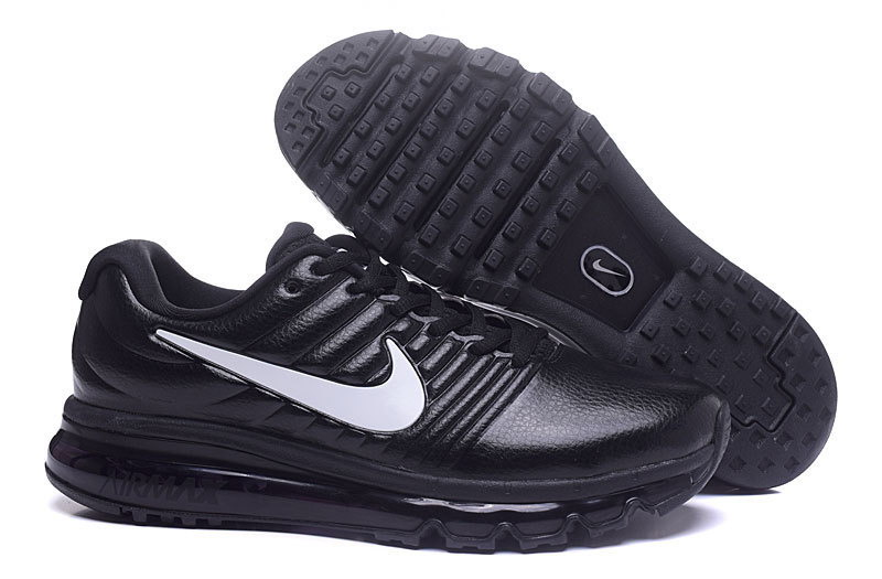 Air Max FREE SHIPPING Cheap Nike AirMax 2017 Leather Black White