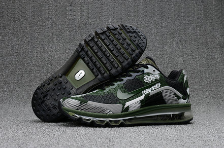 Air Max FREE SHIPPING Cheap Nike AirMax 2017 Mens Army Green Grey Black